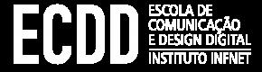 ECDD | logotipo negativo v2
